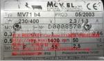 意大利Carpanelli減速電機MV71b4 0.37KW