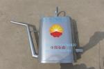 定制型长嘴型封闭式加油壶防爆加厚铝板铝壶消防工具