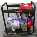 亮猫6寸柴油水泵,电启动,自吸水泵, 150立方防汛抗旱泵