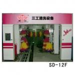 石家庄隧道式七刷全自动洗车机