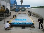 赣州120吨地磅,赣州佰达衡器