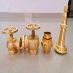 廠家供應全銅室內消火栓 船用黃銅室內栓