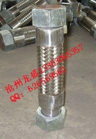 盐山厂家直供DN150不锈钢金属软管,法兰连接