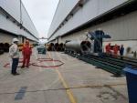 鋼管大管徑切割機 1米2大管徑滾輪架相貫線切割機