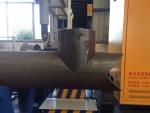 五軸相貫線切割機 鋼管坡口下料切管機