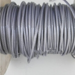 不锈钢包塑钢丝绳 涂塑料钢丝绳 钢绳6mm 7*19