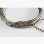 防锈加粗型车库门扭簧专用钢丝绳/拉绳/缆绳/304-7*19