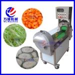 大型多功能雙頭切菜機 電動果蔬切片切絲水果切丁機 高速切菜機