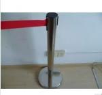鏡鋼2米布帶警戒線欄桿 銀行圍欄護欄 一米線伸縮隔離帶