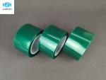 PET绿色高温胶带 喷涂遮蔽保护胶带0.06mm