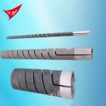 登封双螺纹硅碳棒加热管规格型号