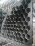 玻璃钢阻燃六角蜂窝阳极管收尘清灰效果惊人
