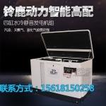 广西大功率静音汽油发电机15KW