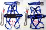 涤纶全身电工三点式安全带