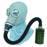 供应硅胶头套式防毒面具
