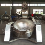 电磁加热行星搅拌炒锅     全自动高粘度炒料搅拌锅