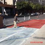 安徽铜陵路面改色剂喷涂均匀技巧掌握