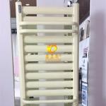 卫生间用暖气片@铜铝复合小背篓散热器@实景效果图