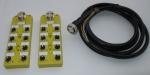 M12分线盒,M12传感器执行器分线盒