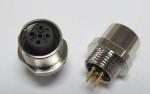 PCB板M12焊接式插座