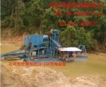 河沙淘金船青州挖沙淘金船鲁晟机械供应