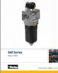parker/派克SAE系列回流过滤器
