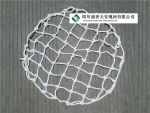 井盖网 厂家直销 聚乙烯 窨井防坠网 下水道防坠网 井盖网
