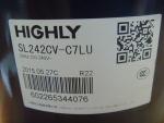 海立压缩机 HIGHLY 空调压缩机 SL242CV-C7L