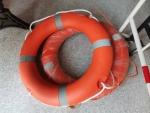 船用救生圈2.5KG加厚實心國標塑料圈