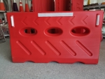 三孔水馬吹塑道路安全護欄