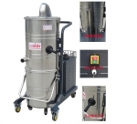 专业清理粉尘用工业吸尘器真空上下桶式吸尘机