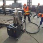 广西大型吸尘器钢铁车间吸尘吸铁渣用工业吸尘器