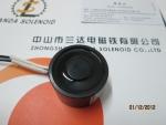 广东电磁铁生产厂家,中山兰达直流微型强力吸盘式电磁铁H402