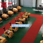 高销量1吨震动压道机,黑龙江佳木斯泥土振动压路机!