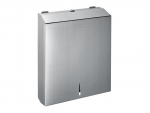 干手纸器 304不锈钢抽纸盒 装2包擦手纸箱 厕纸箱