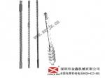 金鑫螺杆厂家供应注塑机周边配件,造粒机螺杆炮筒