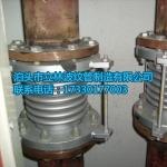 不锈钢补偿器304膨胀节蒸汽拉杆伸缩节法兰波纹输暖管道专用