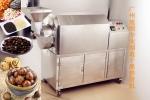 商用豪華型不銹鋼干果板栗炒貨機設備
