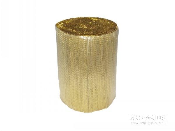 不锈钢家用丝镀铜丝波纹丝304制刷金属钢丝波纹清洁塑料制品图片