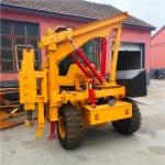 供貨四輪柴油打樁機廠家 方樁圓樁混泥土打樁機 55KW大功率