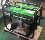移动轮190A柴油发电电焊机