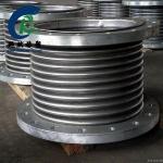 定做大口徑不銹鋼金屬補償器 304法蘭金屬波紋補償器