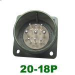 供应军规MS3102A 20-18P伺服电机插座