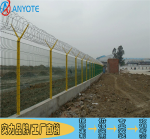 河源别墅区铁丝网围墙 梅州高速生活区围网 双夹丝护栏网报价