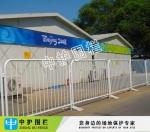 不锈钢移动护栏图片 中山广场临时围栏 惠州体育馆铁马