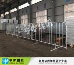 运动场可移动护栏 演唱会临时隔离栏 广州不锈钢铁马出口