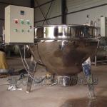 豆腐店必备生产设备 电加热夹层锅 豆浆熬煮锅