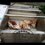 同泰自動洗豬爪機器 毛刷輥洗豬蹄豬頭清洗機