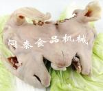 自動液壓式羊頭劈半機 保留羊腦羊舌完整
