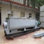上海曼大库底粉料加湿搅拌机 双轴加湿搅拌机厂家